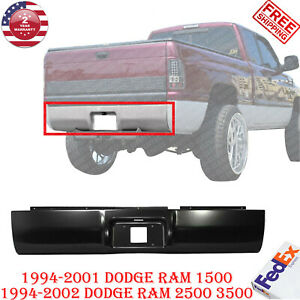 Rear Roll Pan Primed Steel For 1994 2001 Ram 1500 94 02 Dodge Ram 2500 3500