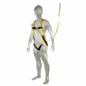 Safety Works Aerial Lift Kit integral Harness Lanyard Standard Size