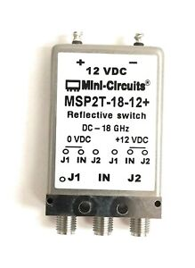 Mini Circuits Msp2t 18 12 Xtra Long Life Spdt Switch Dc To 18 Ghz 50w Sma