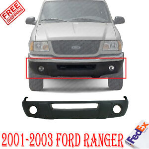 Front Bumper Lower Valance Panel Textured For 2001 2003 Ford Ranger Xl Xlt Model