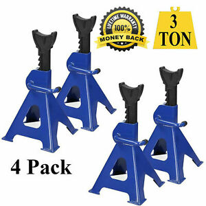 2 Pair Racing Jack Stands 3 Ton Heavy Duty For Car Truck Auto Lift Floor Jack Us