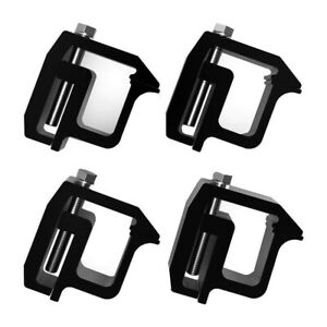 Set Of 4 Truck Cap Camper Shell Mounting Clamps Tl2002 For Chevy Silverado