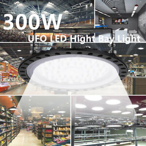 300w Ufo Led High Bay Light Warehouse Industrial Light Fixture 30000lm