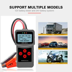 Micro 200pro 12 24 Volt Car Truck Battery Tester Analyzer Diagnostic Tool Us