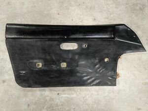 90 97 Mazda Miata Oem Left Driver Side Door Card Trim Panel Black Manual