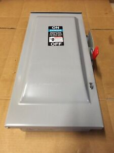 New Siemens Gnf323r 100 Amp 240v 3ph Non fused Type 3r Safety Switch Disconnect