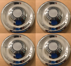 1 Or 4 Chevy Gm Disc Brake Rally Wheel Center Hub Caps Rim 5 Lug Nut Cover