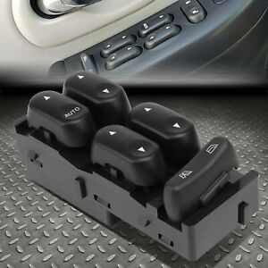 For 00 03 Ford F150 F250 Sd Crew Cab Left Driver Side Master Power Window Switch