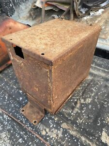 Allis Chalmers Wd45 Battery Box Tag 128