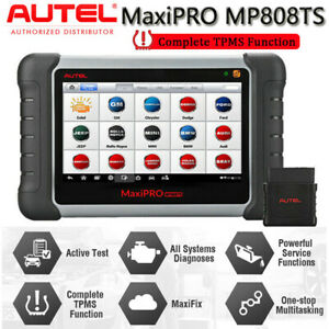 Autel Mp808ts Automotive Full System Diagnostic Scanner Tpms Key Fob Programming
