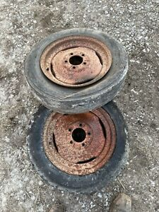 Allis Chalmers Wd45 Front Rim Tag 157