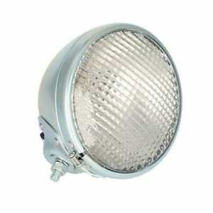 Headlight Assembly 12v Round White Compatible With Case Minneapolis Moline