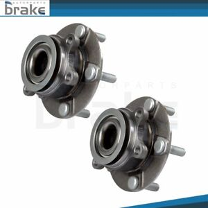 Pair 2 wheel Bearing And Hub Assembly Front Fits 08 13 For Nissan Rogue Sentra