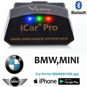Bluetooth 4 0 Vgate Icar Pro Coding Diagnostic Scan Tool For Bimmercode Bmw Obd2