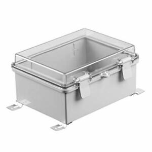Junction Box Hinged Cover Transparent Ip65 Waterproof Plastic Enclosure Project