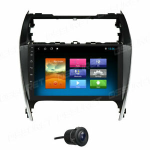10 1 Car Radio Stereo Fm Gps Android 10 For Toyota Camry 2012 2013 2014 Silver