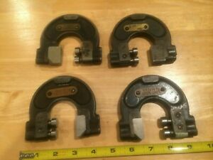 4 Pcs Taft peirce Adjustable Limit Gages No 3