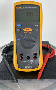 Fluke 1503 Insulation Resistance Meter tester W Leads In Great Shape