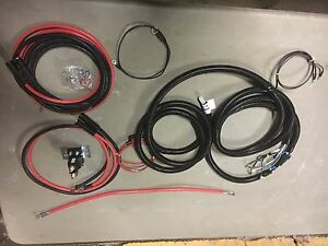 Western Snow Plow Uni mount Wire Harness Kit lift angle straight Blades Only