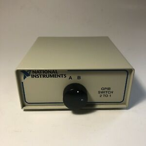 Ni National Instruments Gpib Switch 2 To 1