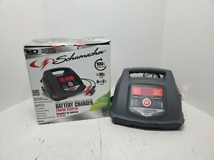 Schumacher Sc1281 6 12v Fully Automatic Battery Charger 30 100a Engine Starter