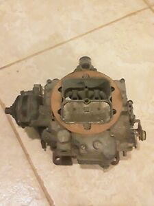 Carter Wcfb 4 Bbl Gm Chevrolet Cadillac 1957 0 1108 Corvette Carburetor