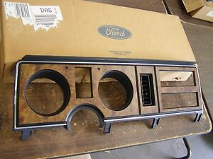 Nos Oem Ford 1986 1987 1988 Ranger Bronco Ii Dash Bezel Trim Pickup Truck Wood