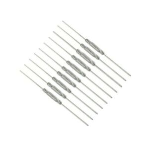 10x Pcs Reed Switch 2x14mm Glass Normally Open N o Low Voltage Current