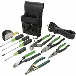 Greenlee 0159 13 Electrician 39s Tool Kit Standard Hand Sets
