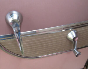 1956 Desoto Fireflite 8 Door Window Crank And Door Release Handle