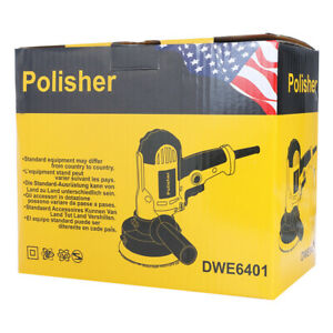 5 Dual Action Da Polisher Orbital Buffer Sander Car Waxing Polishing Machine Us