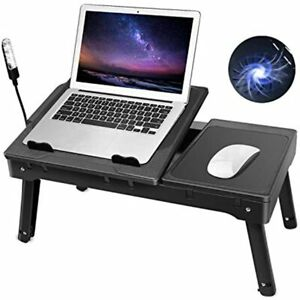 Moclever Laptop Table For Bed multi functional Tray With Internal Cooling Fan 2