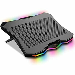 Aicheson Laptop Cooling Cooler Pad 15 6 17 3 Inch With Metal Panel Big Fan Aa3