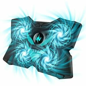 Laptop Cooling Pad Gaming Cooler Stand With 4 Silent Big Fans For Notebook 2