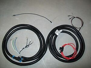 Western Snow Plow Unimount Wire Harness Electric Solenoid Controlled Pumps