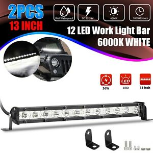 4x 9005 9006 Super White Combo Led Headlight Kit High Low Beam Fog Bulbs 6000k