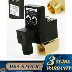 Automatic Timed Auto Drain Valve 1 2 2way Air Compressor Tank Auto Drain Valve