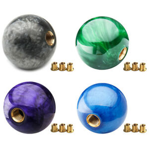 New Marble Ball Shift Knob 54mm For Short Throw Gear Shifter Selector M12 1 25