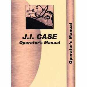 Operator s Manual 930 Compatible With Case 930 930