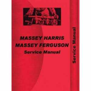 Service Manual 55 55k Compatible With Massey Harris 55 55 55 55
