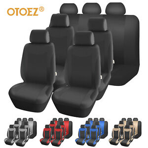 Otoez Car Seat Covers Front Rear 3 Row Full Set For 5 7 Seaters Universal Kit