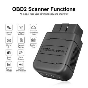 Obd Bluetooth V1 5 Car Code Reader For Iphone Android Auto Obdii Diagnostic Tool