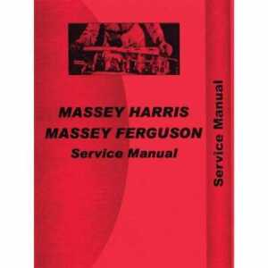 Service Manual 2625 2645 2685 3505 3525 3545 Compatible With Massey Ferguson