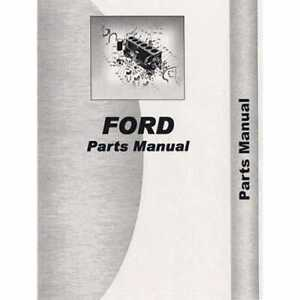 Parts Manual 2000 3000 4000 5000 7000 Compatible With Ford 2000 4000 4000
