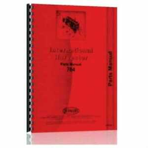 Parts Manual 784 Compatible With International 784