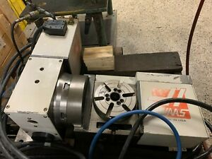 Haas Trt 160 2 axis Rotary Table Indexer 6 3 Dia 4th 5th Axis