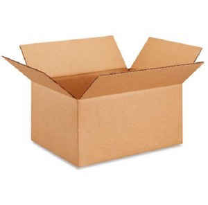 50 12x9x6 Cardboard Paper Boxes Mailing Packing Shipping Box Corrugated Carton