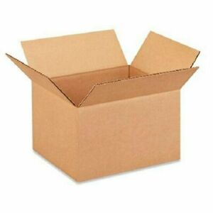 100 10x8x6 Cardboard Paper Boxes Mailing Packing Shipping Box Corrugated Carton