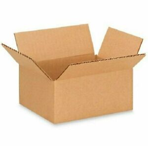 200 7x4x2 Cardboard Paper Boxes Mailing Packing Shipping Box Corrugated Carton