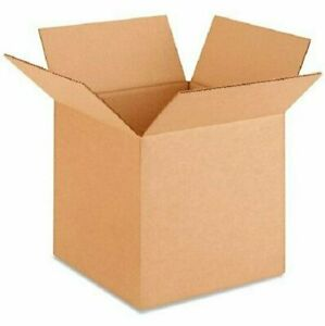 100 10x10x10 Cardboard Paper Boxes Mailing Packing Shipping Box Corrugated